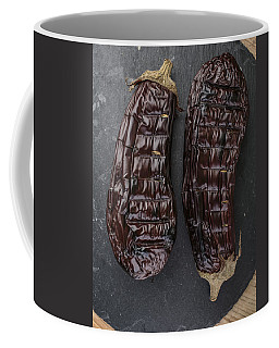 Grilled Aubergine Coffee Mug