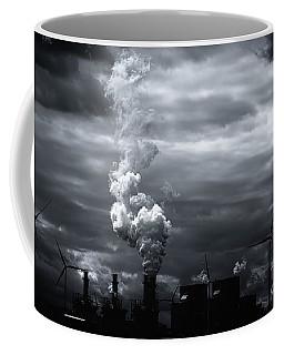 Grim Black White Energy Landscape Coffee Mug