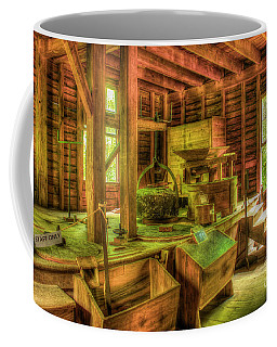 Grindingworks Mingus Mill Great Smoky Mountains Art Coffee Mug