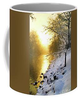 Grings Mill Fog 010 Coffee Mug by Scott McAllister