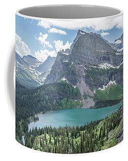 Grinnell Lake From Afar Coffee Mug