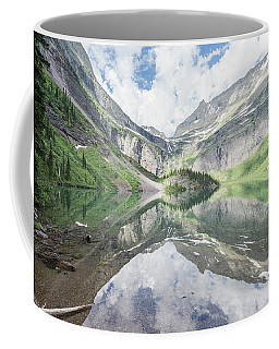Grinnell Lake Mirrored Coffee Mug