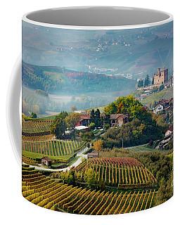 Grinzane Cavour View Coffee Mug by Brian Jannsen