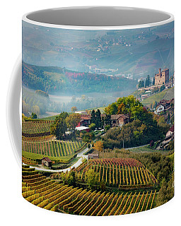 Grinzane Cavour View Coffee Mug
