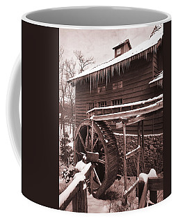 Grist Mill At Siver Dollar City Coffee Mug