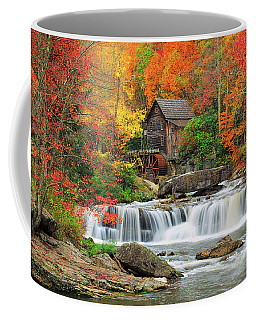 Old Mill In Color  Coffee Mug
