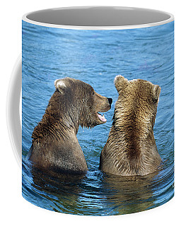 Grizzly Bear Talk Coffee Mug