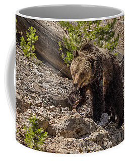 Grizzly Mama Beryl Coffee Mug by Yeates Photography