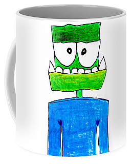Groen Coffee Mug by Carlee Ojeda