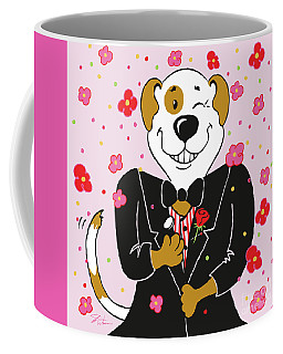 Groom Dog Coffee Mug