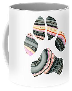 Groovy Dog Paw - Sharon Cummings  Coffee Mug