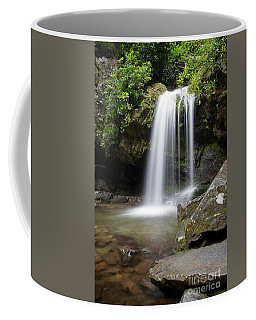 Grotto Falls Vertical Coffee Mug