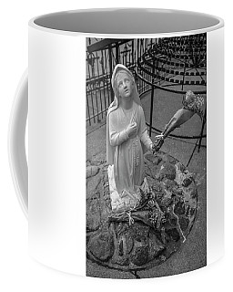 Grotto Of Our Lady Of Lourdes Statue  Coffee Mug