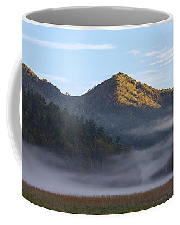 Ground Fog In Cataloochee Valley - October 12 2016 Coffee Mug