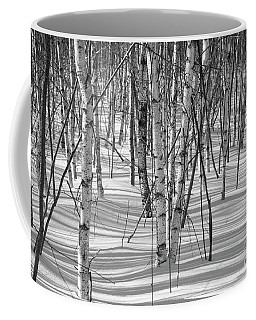 Group Of White Birches Coffee Mug