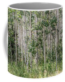 Grove Of Quaking Aspen Aka Quakies Coffee Mug