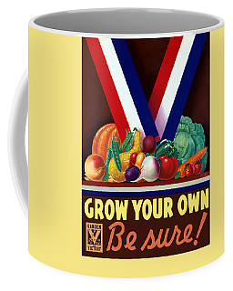 Grow Your Own Victory Garden Coffee Mug