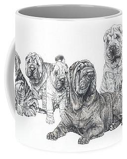 Mister Wrinkles And Family Coffee Mug