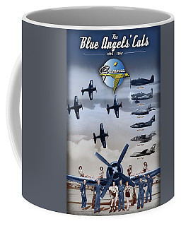 Grumman Blue Angels Cats Coffee Mug