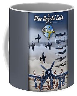 Grumman Blue Angels Cats Coffee Mug