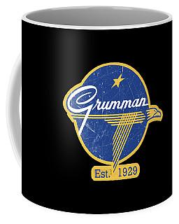 Grumman Est 1929 Distressed Coffee Mug