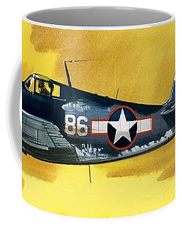 Grumman F6f-3 Hellcat Coffee Mug