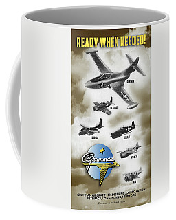 Grumman Ready When Needed Coffee Mug