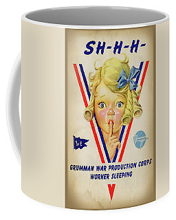 Grumman Worker Sleeping Poster Coffee Mug