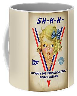 Grumman Worker Sleeping Poster Coffee Mug
