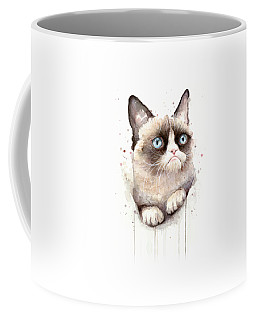 Watercolor Pet Portraits Coffee Mugs