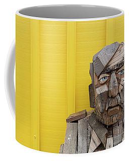 Coffee Mug featuring the photograph Grumpy Old Man by Edward Fielding