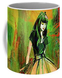 Grunge Doll Coffee Mug