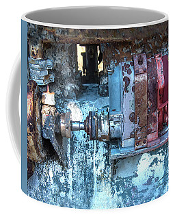 Grungy Engine Coffee Mug