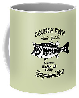 Grungy Fish Coffee Mug