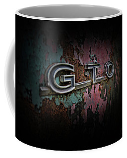 Coffee Mug featuring the photograph Gto Emblem by Glenda Wright
