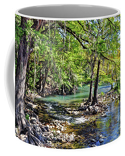 Guadalupe River In Gruene Texas Coffee Mug