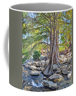 Coffee Mug featuring the photograph Guadalupe River by Savannah Gibbs