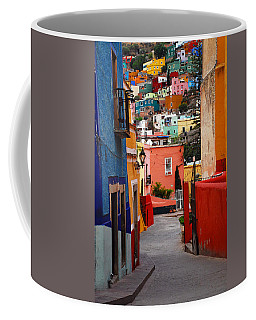 Guanajuato Lane Coffee Mug by Skip Hunt