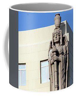 Guardian Angel And Blue Coffee Mug