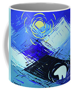Guardian Bear Winter Coffee Mug