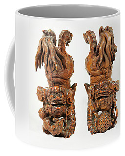 Guardian Lion Dogs Coffee Mug