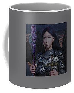 Coffee Mug featuring the photograph Guardian10 by Suzanne Silvir