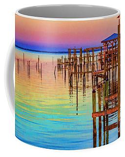 Guarding The Dock Coffee Mug