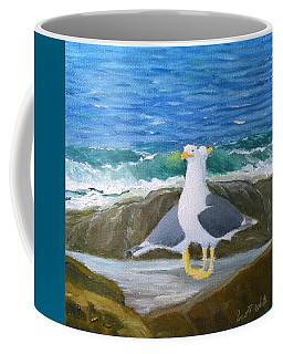 Guarding The Land And Sea Coffee Mug