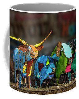 Coffee Mug featuring the photograph Guess Who's Coming To Dinner by Paul Wear
