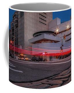Coffee Mug featuring the photograph Guggenheim Museum Nyc  by Susan Candelario