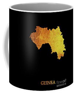 Guinea - Gold Black Coffee Mug