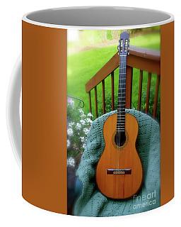 Guitar Awaiting Coffee Mug