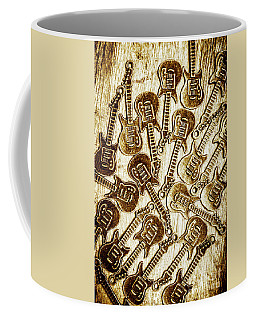 Guitar Echo Chamber Coffee Mug