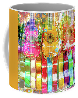 Guitar Happy Coffee Mug